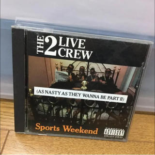 送料込★THE 2 LIVE CREW Sports Weekend★(ヒップホップ/ラップ)