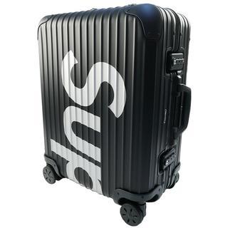 シュプリーム(Supreme)の×RIMOWA 18SS Topas Multiwheel 45L キャリー(トラベルバッグ/スーツケース)