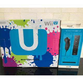 ウィーユー(Wii U)のWii U スプラトゥーンセット (32GB)リモコンプラス追加パックセット販売(家庭用ゲーム本体)