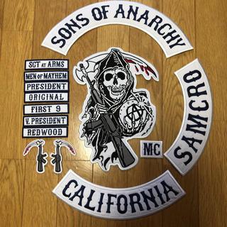サンズオブアナーキー  14点ワッペン セット sons of anarchy (ライダースジャケット)