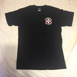 インディペンデント(INDEPENDENT)のINDEPENDENT ブラック  Tシャツ インディペンデント(Tシャツ/カットソー(半袖/袖なし))