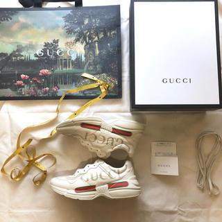 グッチ(Gucci)の国内正規品 百貨店購入 gucci スニーカー 28センチ (スニーカー)