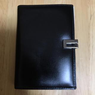 グッチ(Gucci)の新品❣️本革グッチ 手帳 ボールペン付 ブラック(手帳)