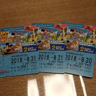 ディズニー(Disney)のディズニーリゾートライン チケット(鉄道乗車券)