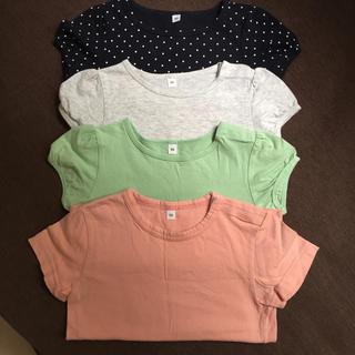 ムジルシリョウヒン(MUJI (無印良品))のセット売り 90 トップス 無印良品 半袖チュニック(Tシャツ/カットソー)