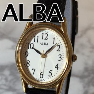 アルバ(ALBA)の【ALBA】オーバル型 クォーツ腕時計 WH-683(腕時計)