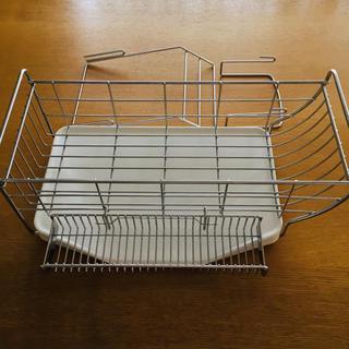 ムジルシリョウヒン(MUJI (無印良品))のKEYUCA ケユカ✴︎水切り「ネオナビオドレーナー」5点セット(収納/キッチン雑貨)