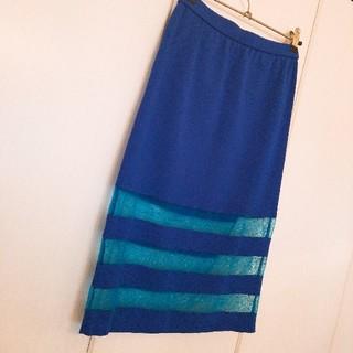 ルシェルブルー(LE CIEL BLEU)のLE CIEL BLUEスカート(ひざ丈スカート)