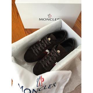 モンクレール(MONCLER)のモンクレール モナコ レザースニーカー サイズ41 未使用❣️(スニーカー)