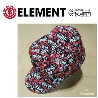 エレメント(ELEMENT)のelement エレメント キャップ ハンチング 帽子(キャップ)
