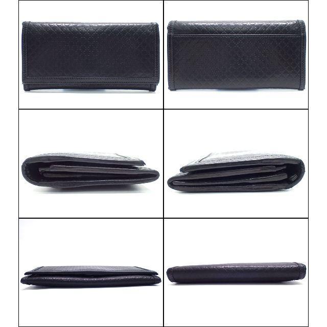 Gucci(グッチ)のA636 美品 グッチ 型押しレザー 2つ折 長財布 アウトレット メンズのファッション小物(長財布)の商品写真