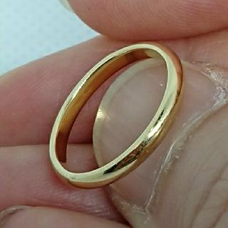 ティファニー(Tiffany & Co.)のティファニー K18イエローゴールドリング ピンキー(リング(指輪))