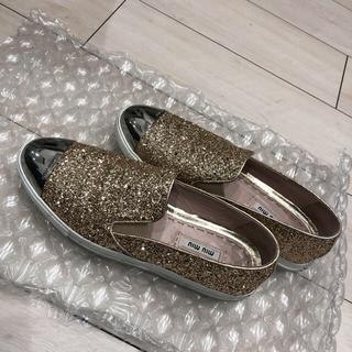 ミュウミュウ(miumiu)のmiu miu  靴(スニーカー)