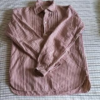 ウエアハウス(WAREHOUSE)のヘラーズカフェ☆プルオーバー シャツ サイズ34(シャツ)