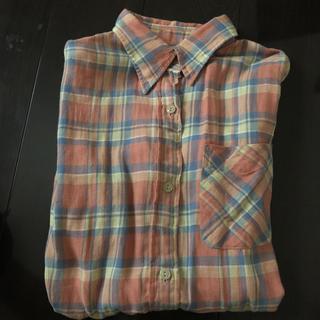 アングリッド(Ungrid)のちゃんまゆ♡様専用ungrid チェックシャツ(シャツ/ブラウス(長袖/七分))