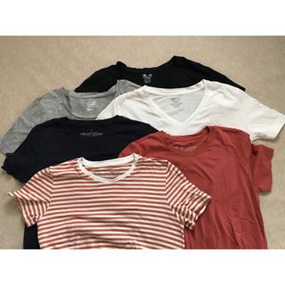 ムジルシリョウヒン(MUJI (無印良品))の無印良品 & GU ベーシックTシャツ 6枚セット Mサイズ(Tシャツ(半袖/袖なし))