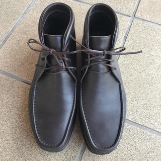 エルメネジルドゼニア(Ermenegildo Zegna)のエルメネジルドゼニア ドライビングシューズ 靴 27~27.5cm 皮こげ茶 茶(ドレス/ビジネス)