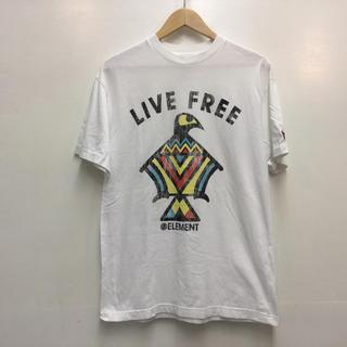 エレメント(ELEMENT)のELEMENT Tシャツ ホワイト エレメント(Tシャツ/カットソー(半袖/袖なし))
