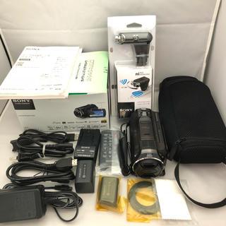ソニー(SONY)のソニービデオカメラ HDR-PJ630V ブラウン(ビデオカメラ)