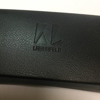 カールラガーフェルド(Karl Lagerfeld)のラガーフィールドハードメガネケース(サングラス/メガネ)