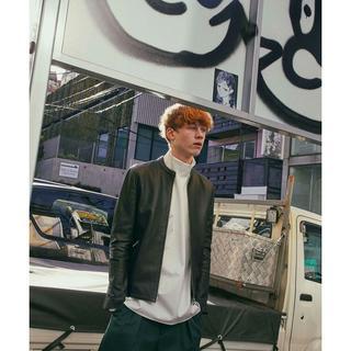 UNITED TOKYO ラムレザーライダース メンズ(ライダースジャケット)