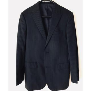 バーバリーブラックレーベル(BURBERRY BLACK LABEL)のバーバリー ブラックレーべル 38R スーツ ブラック お洒落 細身(セットアップ)