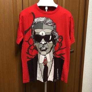 カールラガーフェルド(Karl Lagerfeld)のラガーフェルド Tシャツ オシャレTシャツ(Tシャツ/カットソー(半袖/袖なし))