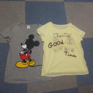 チップアンドデール(チップ&デール)のDisneyTシャツセット♪(Tシャツ(半袖/袖なし))
