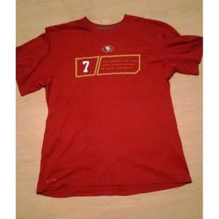 ナイキ(NIKE)のナイキ NIKE 半袖 Tシャツ 赤 XL NFL グアム購入(Tシャツ/カットソー(半袖/袖なし))
