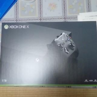 エックスボックス(Xbox)の[新品未開封] xbox one x(家庭用ゲーム本体)