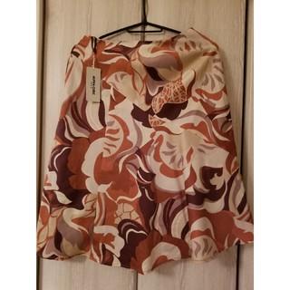 アルファキュービック(ALPHA CUBIC)のアルファーキュービック スカート(ひざ丈スカート)