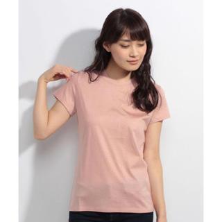 デミルクスビームス(Demi-Luxe BEAMS)のデミルクスビームス vondel  リヨセルベーシックTシャツ(Tシャツ(半袖/袖なし))