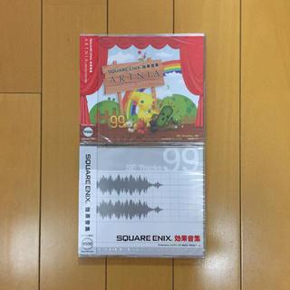 スクウェアエニックス(SQUARE ENIX)のスクウェア・エニックス 効果音集 2枚セット(ゲーム音楽)