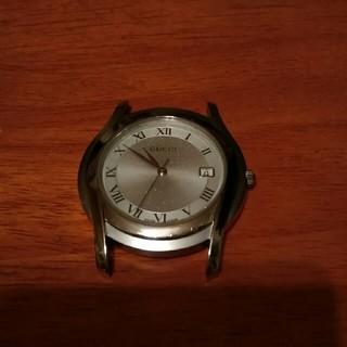 グッチ(Gucci)のグッチメンズ時計5500M本体 2500円(腕時計(アナログ))