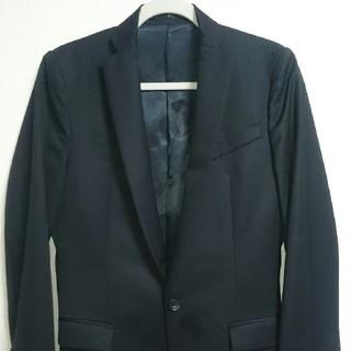 アトウ(ato)のアトウ ウールテーラードジャケット 44 黒 値引き交渉可(テーラードジャケット)
