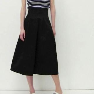 ルシェルブルー(LE CIEL BLEU)のペコちゃんさま専用 お取り置きルシェルブルー コットンツイルハイウェストスカート(ひざ丈スカート)