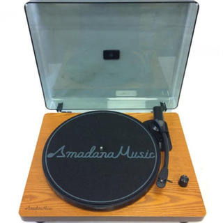 アマダナ(amadana)の期間限定値下 amadana  レコードプレーヤー(ポータブルプレーヤー)