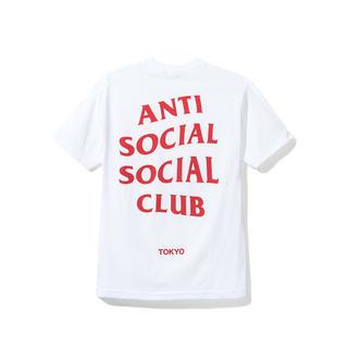 アンチ(ANTI)のASSC アンチソーシャルソーシャルクラブ Tシャツ M 東京(Tシャツ/カットソー(半袖/袖なし))