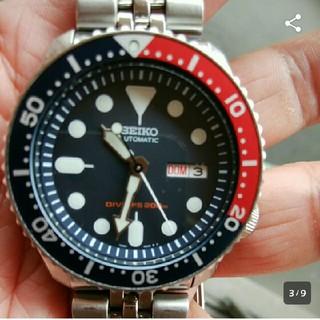 セイコー(SEIKO)の★★美品 機械式セイコーダイバーウォッチ 200M防水★★(腕時計(アナログ))