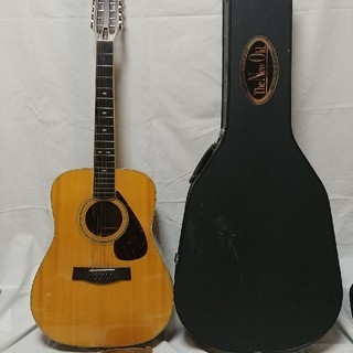 ヤマハ(ヤマハ)の12本弦 YAMAHA L12-5 アコースティックギター ハードケース交換弦付(アコースティックギター)