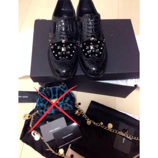 ドルチェアンドガッバーナ(DOLCE&GABBANA)のRAM 様専用DOLCE & GABBANA 皮靴(その他)