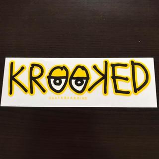 KROOKED - 【縦5.8cm横17.8cm】krooked ステッカー