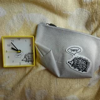 スタディオクリップ(STUDIO CLIP)のリサラーソン×studioクリップ置時計&ポーチ(置時計)
