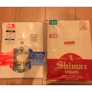 シマムラ(しまむら)の【新品】ランニング Lサイズ 4枚組(その他)