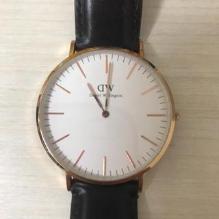 ダニエルウェリントン(Daniel Wellington)のDaniel Wellington 40mm 中古腕時計(腕時計(アナログ))