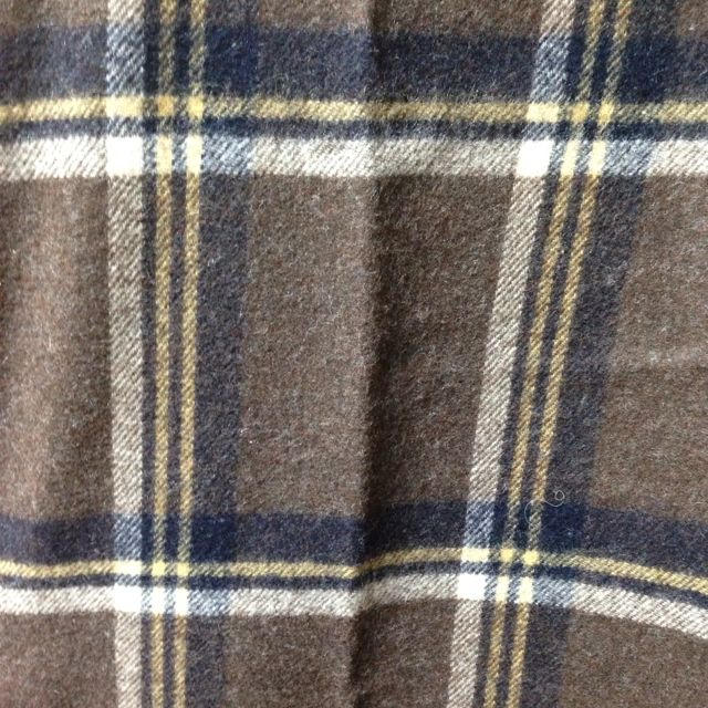 MUJI (無印良品)(ムジルシリョウヒン)のMUJI大判チェック柄ケープストール レディースのファッション小物(ストール/パシュミナ)の商品写真