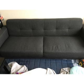 ソファーで寝れる大きさ!!ローソファーです!(ローソファ/フロアソファ)