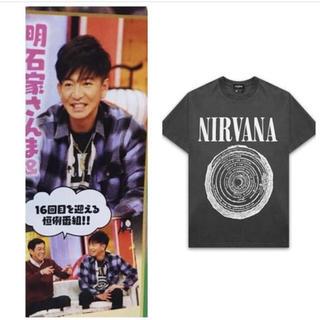 ハーフマン(HALFMAN)のNIRVANA シャツ(Tシャツ/カットソー(半袖/袖なし))