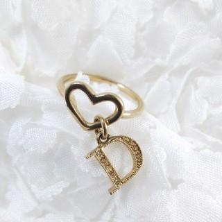 クリスチャンディオール(Christian Dior)のDior 指輪 リング 13号 ハート ロゴ (リング(指輪))