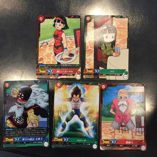 ドラゴンボール(ドラゴンボール)のドラゴンボールカード 5枚セット(シングルカード)